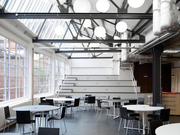 Studio TILT, architecture, codesign, Club Workspace, workspace design, renovation, Club Barley Mow, coworking