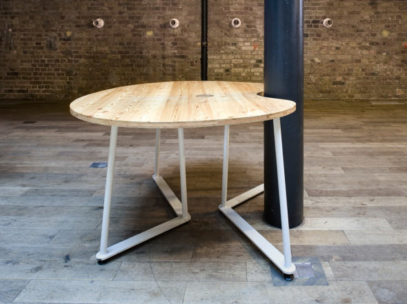 Fruit&Nut, Fruit&Nut table, Studio TILT fruit&Nut Table, Studio TILT Fruit&Nut, furniture design, Hub King's Cross, Impact Hub, Impact Hub King's Cross, Studio TILT Hub King's Cross, Hub King's Cross furniture, coworking space, coworking, coworking furniture