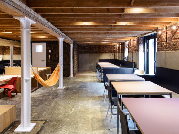 Club London Bridge, innovation, transformative design, user centered design, collaborative workplace design, coworking space, Studio TILT, design thinking architecture, renovation, codesign, comake, studio TILT, London, coworking, coworking architecture, architecture London