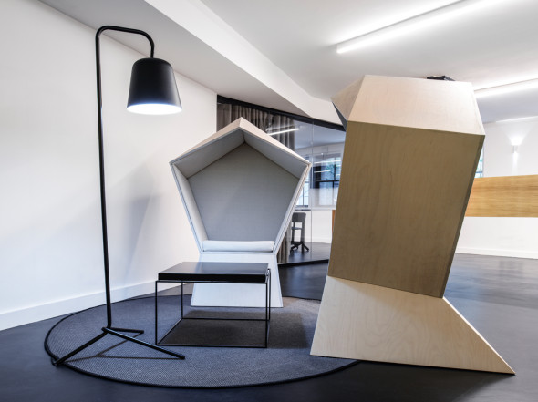 Club Chancery Lane, coworking, coworking space, coworking space design, london architecture, studio tilt, london coworking space, london coworking architecture, quiet, quiet chair